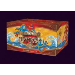 Китайский дракон (112 залпов) Веерный.