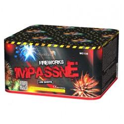 IMPASSNE салют с элементами веера 128 залпов