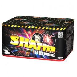 SHATTER 106 залпов с элементами веера