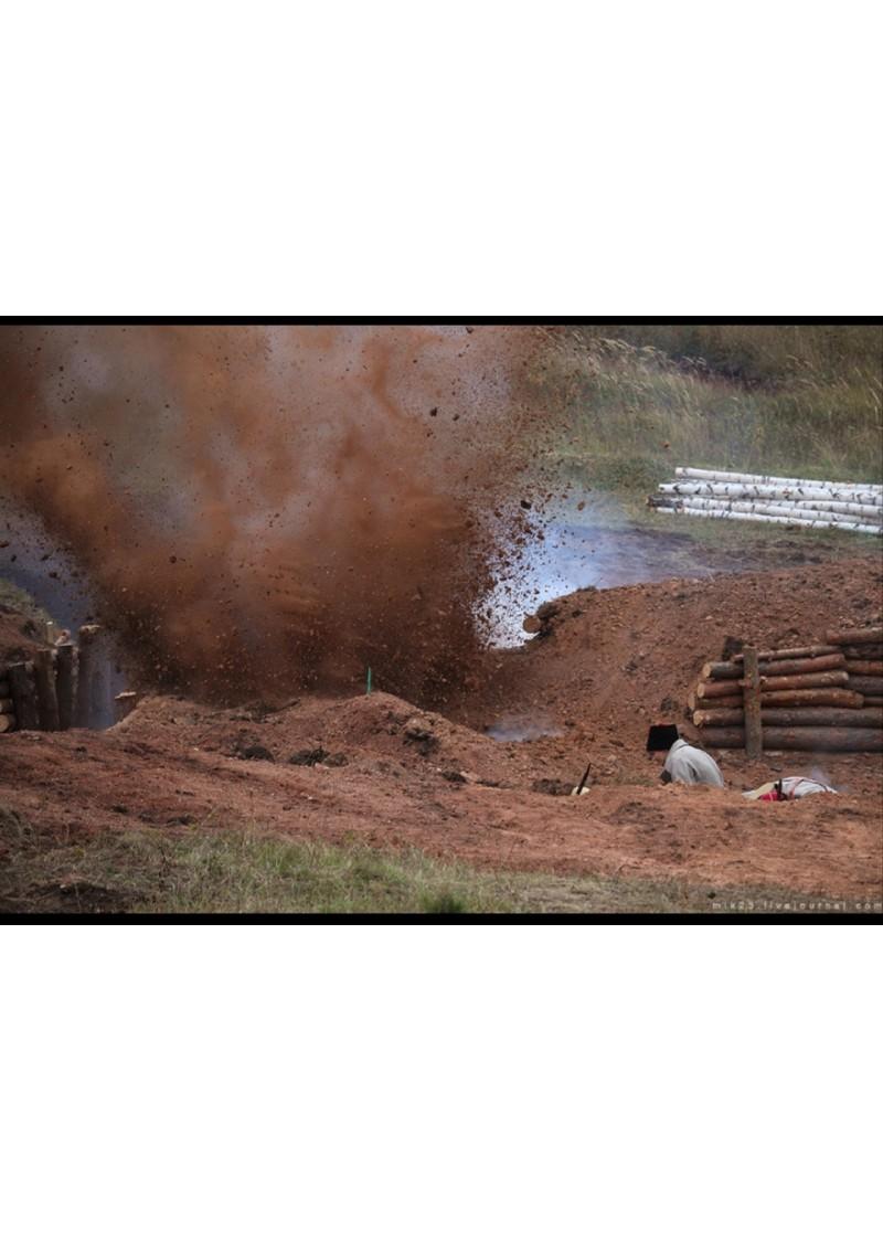 Пиротехнические взрывы Разрушение объектов